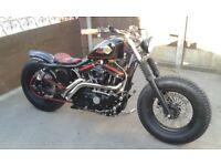 Harley Davidson Old School Bobber
