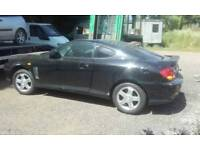 BREAKING, Hyundai Coupe. 1 Week Only. All Parts Available