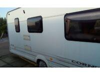 swift, corniche, touring caravan 17/3