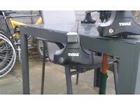 Thule 769 Bars, 754 Foot Pack, 1417 fitting Kit Audi A3
