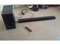 sound bar sony HT-CT 180 100W