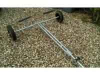 Boat launching trolley , galvanized