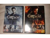 Complete Seasons 4 And 5 Of Grimm