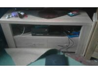 Corner unit with two drawers good condition