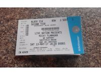 Micky Flanagan Tour Ticket - Sheffield Arena - Saturday 13th May 2017 - Block 214