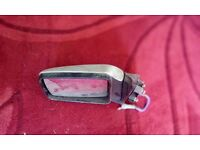 Land rover range rover classic door mirror near side colour coded in silver (both available)