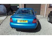Audi A4 1999 1.9tdi 110bhp for sale.