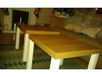 Two side/lamp tables
