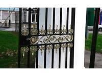 Total Refurbishment of Gates & Railings - Shot Blasting & Powder Coating
