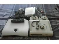 X box 36o wii console sky box with remote.