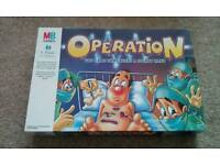 OPERATION; THE GAME THAT NEEDS A STEADY HAND MB GAMES DATED 1999
