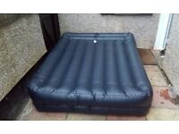 Intex double camping air bed with electric pump