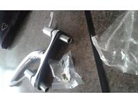 Stainless steel mixer tap and fittings