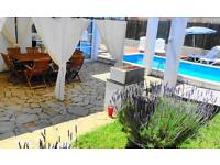 Large House 500 metres from beach Mallorca, own pool, free WIFI, no need for car, sleeps 10