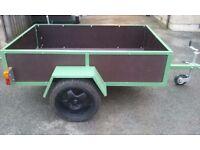6x4 car trailer (new)