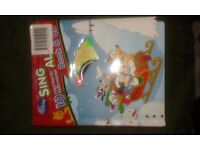 Disney christmas singalong book and cd