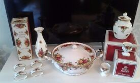 Old Country Roses China Assortment