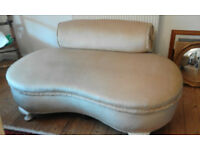 Small low back sofa