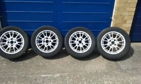 Ford mondeo alloy wheels and tyres