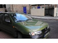 Excellent condition nissan almera left hand drive LHD