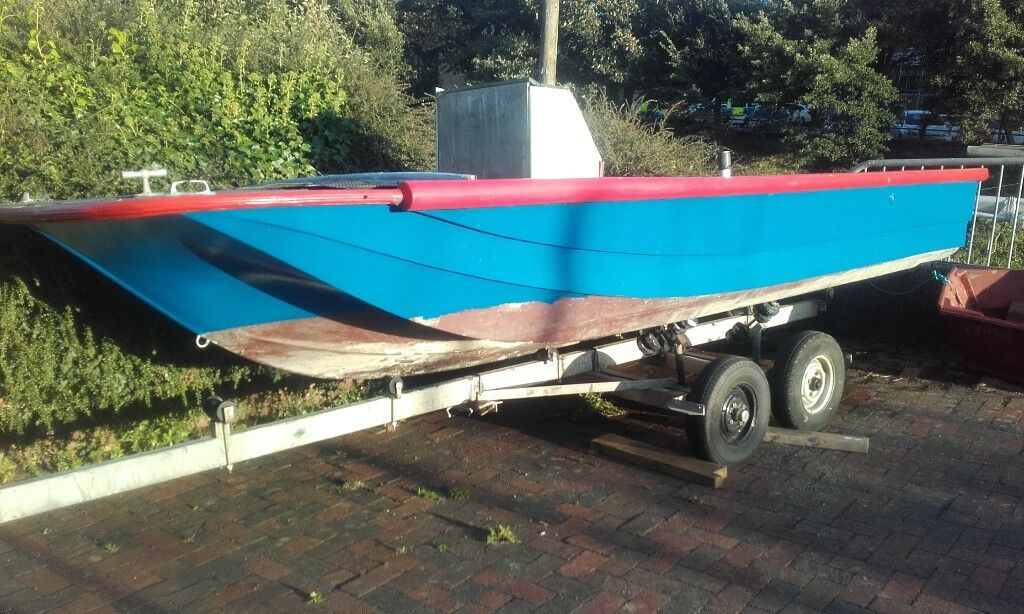 18ft dory fishing boat project poss px swap ?