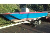 18ft dory fishing boat project