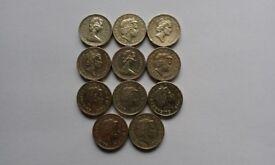 £1 Coins.