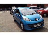 2006 Peugeot 107 Urban 998cc Normally Aspirated petrol Manual 5 Speed 3 Doors Hatchback