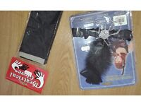 Great Gatsby themed costume - feather headpiece, black sandals and long gloves