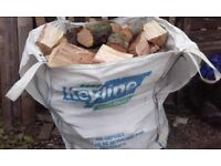 one ton bag of logs for sale £50 free local delivery
