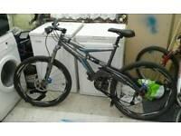 Full suspension mountain bike Marin quad Tara