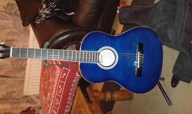 3/4 left handed acoustic guitar