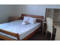 Superb bright & airy master bedroom (double) - NON-SMOKING clean & spacious 4 bed room shared house