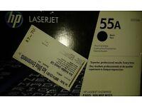 Hp Laserjet 55a Black Print Cartridge