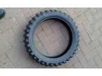 KTM Adventure Karoo off road tyres.