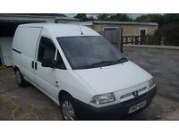 Citreon Relay. 1.9 non-turbo Diesel van. 2000 reg. full mot. very economical