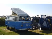 Sandy the 1972 Westfalia, Volkwagen T2 Bay Window Campervan