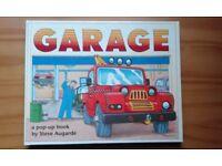 Garage pop up book.