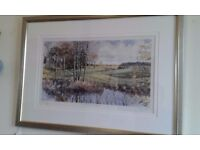 **NOW £10** Limited Edition framed print