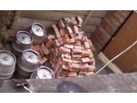 100 yrs +. Old Red Bricks , 200 available from the week of 24th sept