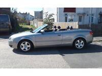 Audi, A4, Convertible, 2005, Manual, 2393 (cc), 2 doors