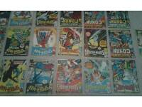 Laminated marvel comic covers 1970s