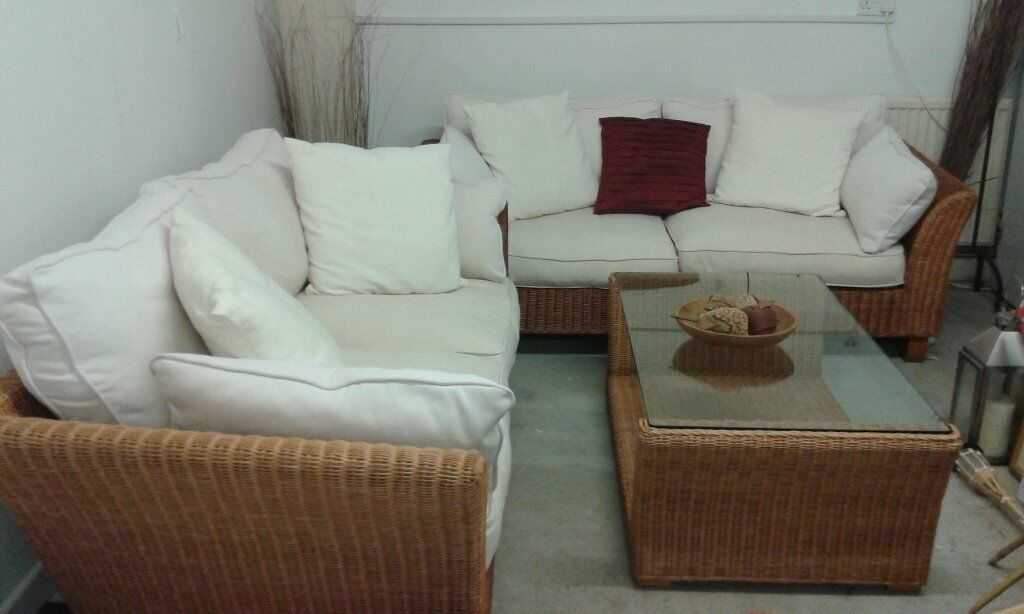 Conservatory Furniture For Sale 2 Matching Sofas And
