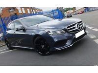 2014 Mercedes E250 AMG SPORT 19 inch BLACK AMG Alloys Semi AUTO 26,000 MILES - Excellent Condition