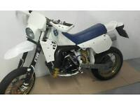 Husqvarna wr400 supermoto, 2 stroke, road registered with v5, may swap p/x for 125 van or caravan