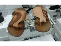 Men leather sandals New