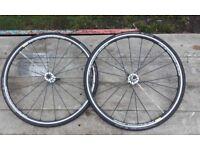 MAVIC KSYRIUM SLS 23 WTS 700c bike wheels pair VGC 8 9 10 11 speed shimano