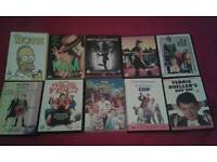 TEXT IF INTERESTED. MIXED DVDS