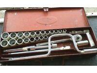 Britool Chrome Alloy Steel Socket Set