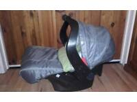 Mothercare baby car seat with extras